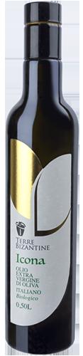 Bottiglie olio extravergine di oliva biologico - Linea Icona